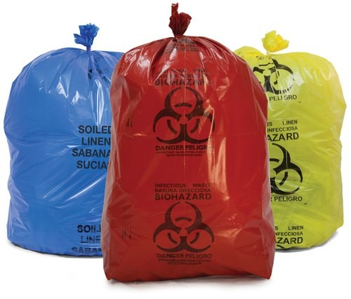 bio-medical waste disposal bags